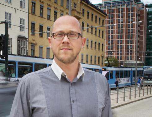 Kommunikasjonsrådgiver Martin Skaug Halsos råder familien til å klage dersom de ikke vinner frem hos Norwegian. Foto: Kolonihaven/Forbrukerrådet