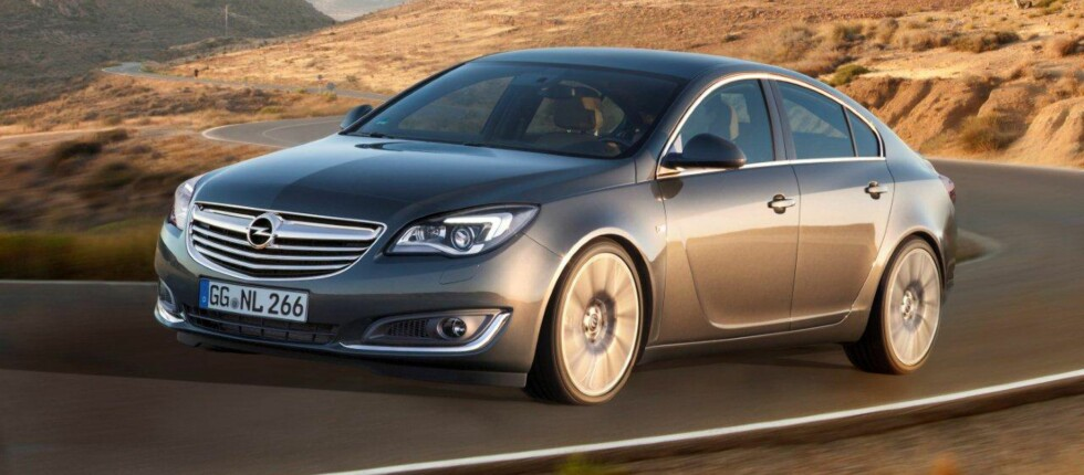 Opel Insignia oppdateres. Nå får den ny teknologi for å henge med i kampen.  Foto: Produsenten