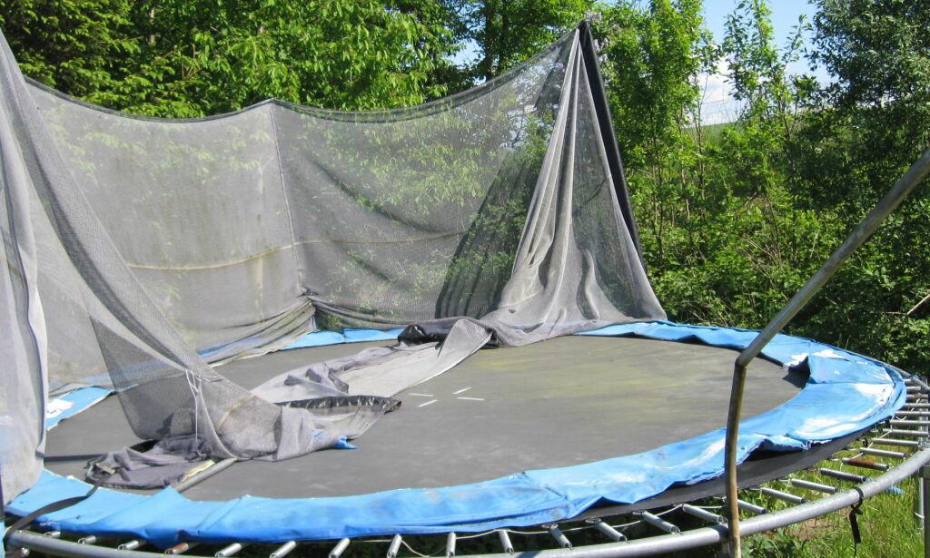 image: Kjøpe trampoline? Sjekk tipsene