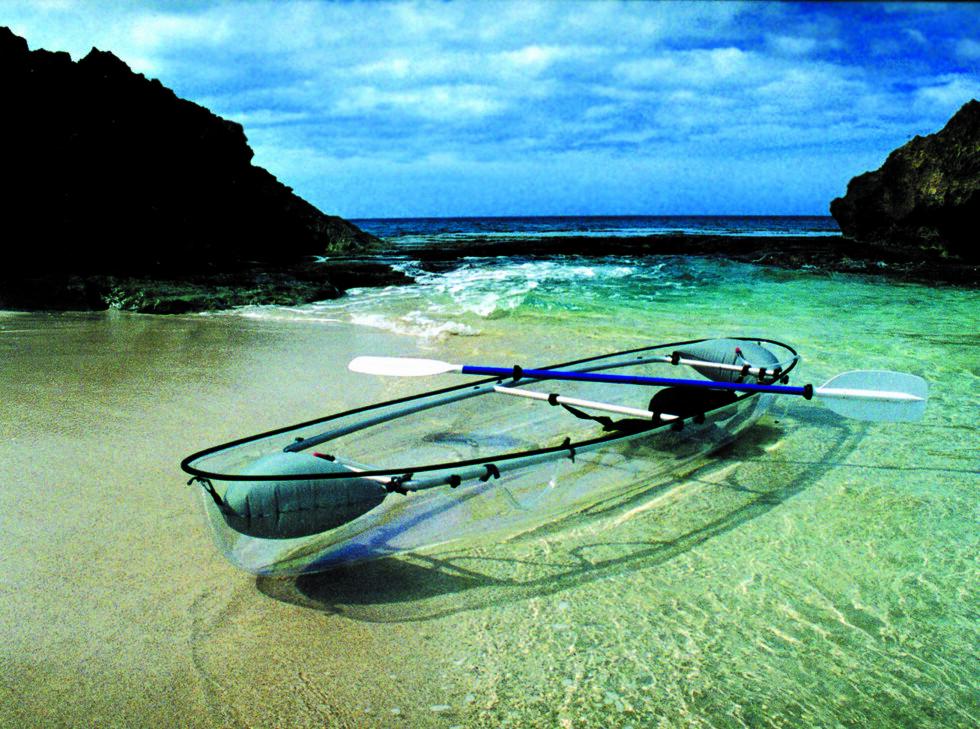 FOR VARMERE STRØK: Molokinoen egner seg best sør for ekvator.  Foto: Clear Blue Hawaii