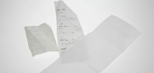 Ta vare på kvitteringer og fakturaer på et trygt sted, slik at du kan dokumentere alle utgifter du har hatt.  Foto: Per Ervland