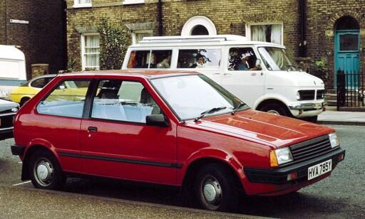 Den opprinnelige Nissan Micra ble lansert i 1982. Siden er det blitt 6 millioner Micra. Foto: Wikimedia Commons