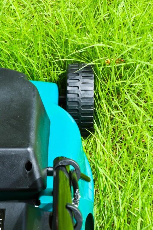Venter du med å klippe gresset til det har vokst seg vel langt, er ikke en bioklipper noe for deg. Foto: All Over Press