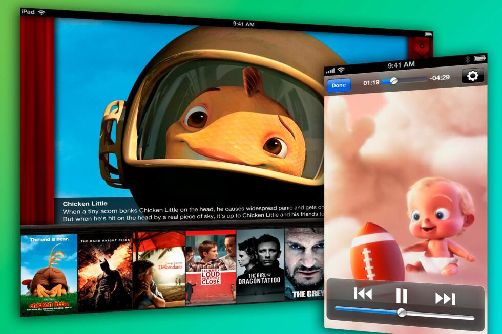 Hvem trenger Apples innebygde videospiller når det finnes apper som dette?