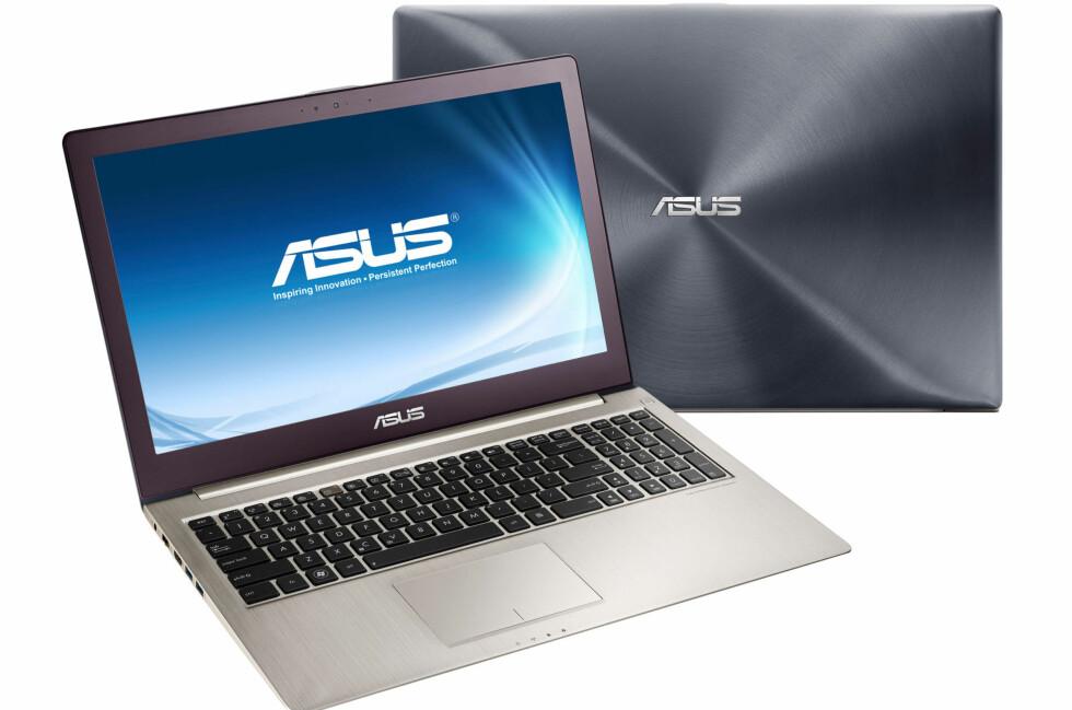 """Med dobbel SSD, kraftig prosessor og grafikkort - og """"retina-skjerm"""", bli dette av de aller kraftigste ultrabooks på markedet. Foto: Alle bilder - Asus"""