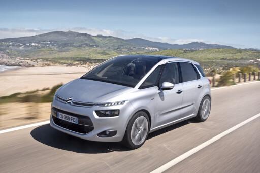 Nye Citroën C4 Picasso byr på komfortabel fremdrift.