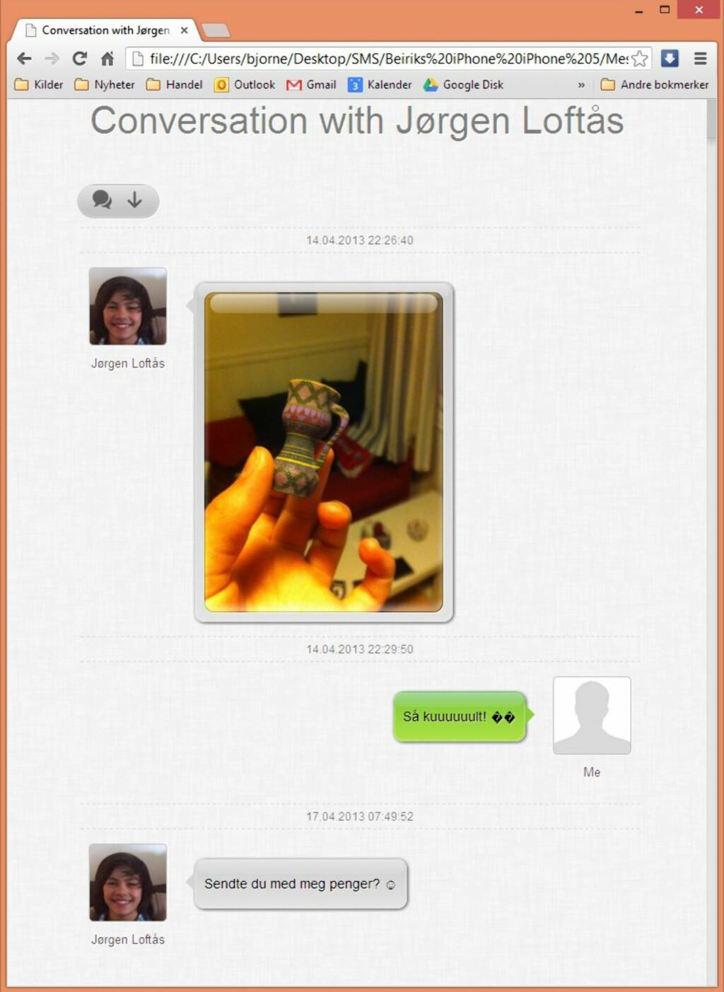 image: Copytrans tar vare på meldingene dine