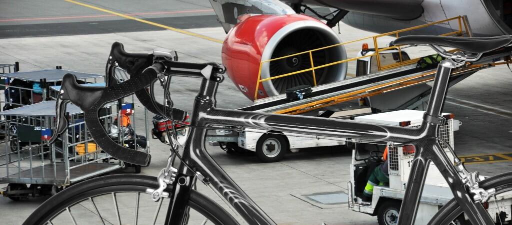 Ryanair skal ha 960 kroner for å frakte sykkelen din tur-retur reisemålet. Flyr du med SAS, kan du ta med sykkelen gratis - dersom du ikke har med deg annen bagasje, vel og merke! Foto: Colourbox.com/Kristin Sørdal