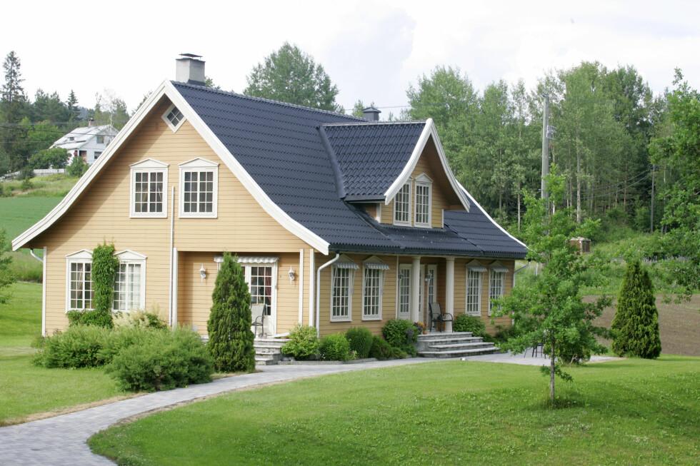 Det er vakkert med en velstelt grønn plen, men det kommer dessverre ikke av seg selv.  Foto: Colourbox.com