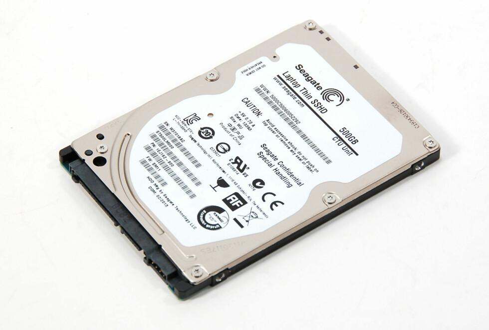 TO-I-ETT: Men er Seagates hybrid-disk nå endelig voksen? Foto: Brynjulf Blix
