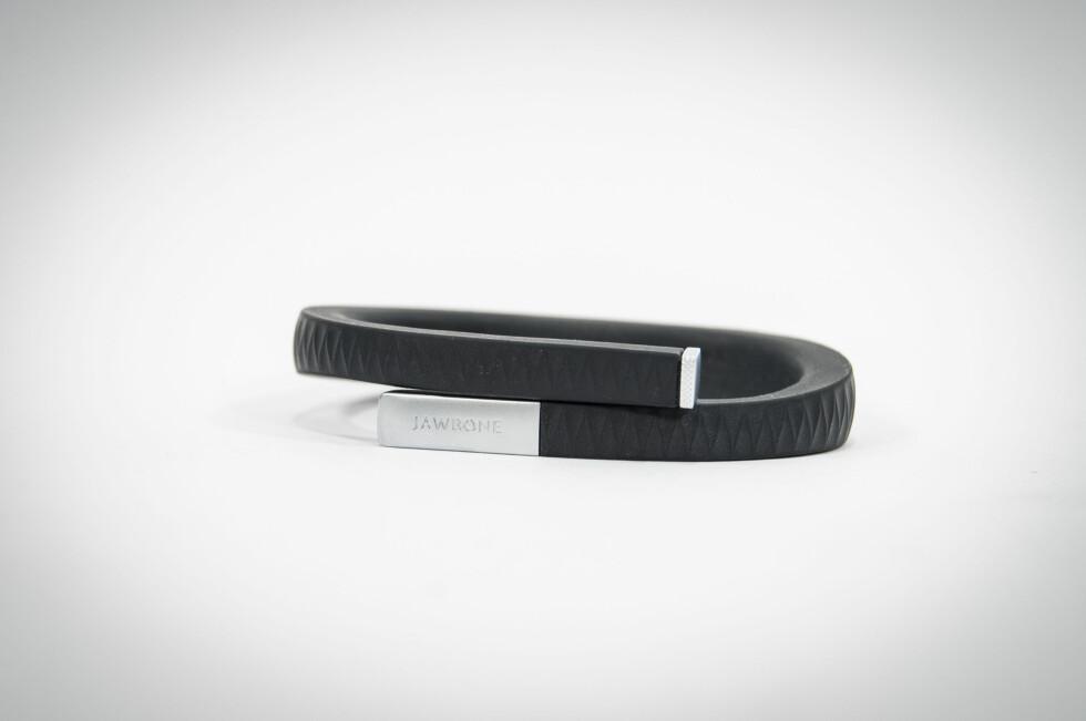 Armbåndet er laget av fleksibel men sterk gummi. Foto: Gaute Beckett Holmslet