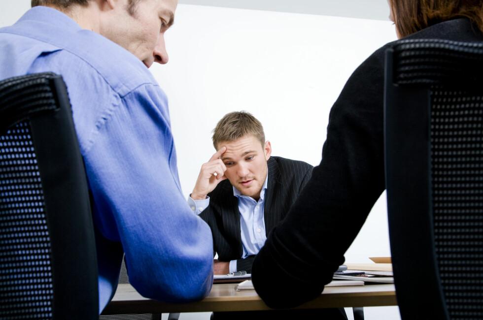I enkelte bransjer kan veien til jobbintervjuet bli lenger om du ikke har lest god nok korrektur på søknads dokumentene dine.  Foto: COLOURBOX