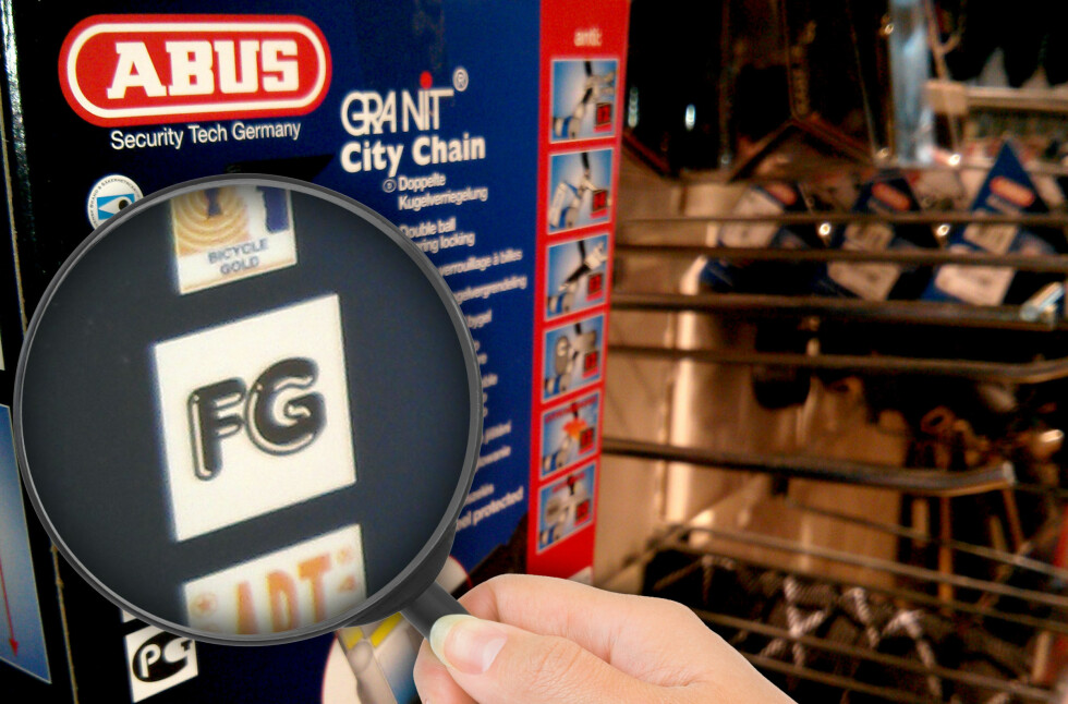 SKAL VÆRE BEDRE: En lås med FG-merket på kan holde høyere kvalitet, men gir deg ingen forsikringsfordeler hos de store aktørene vi har snakket med.  Foto: Ole Petter Baugerød Stokke