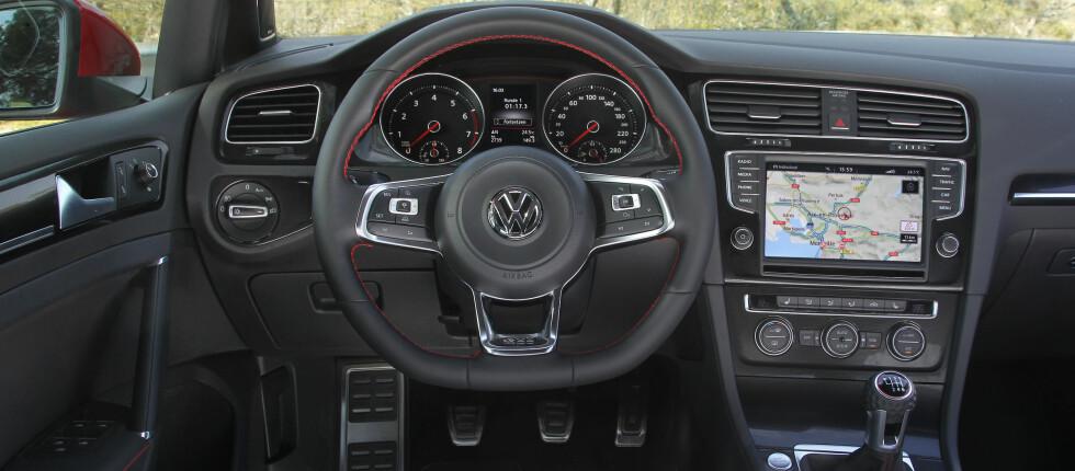 VW Golf GTI er en av mange spennende nyheter denne måneden.