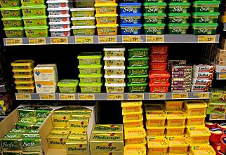 Smør og margarin - ikke akkurat ett fett