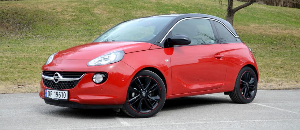 Opel har lykkes i å skape en annerledes og særegen bybil, men den er ikke helt uten svakheter Foto: Cato Steinsvåg