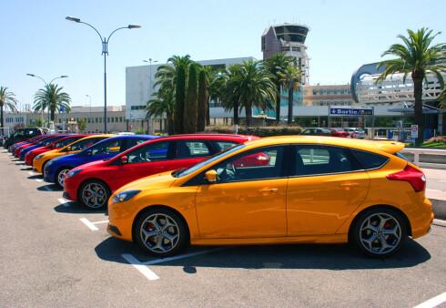 """Ford Focus (her i """"versting-versjon"""" ST) er en av modellene som har fått rasjonalisert sin prisstruktur. Foto: Knut Moberg"""