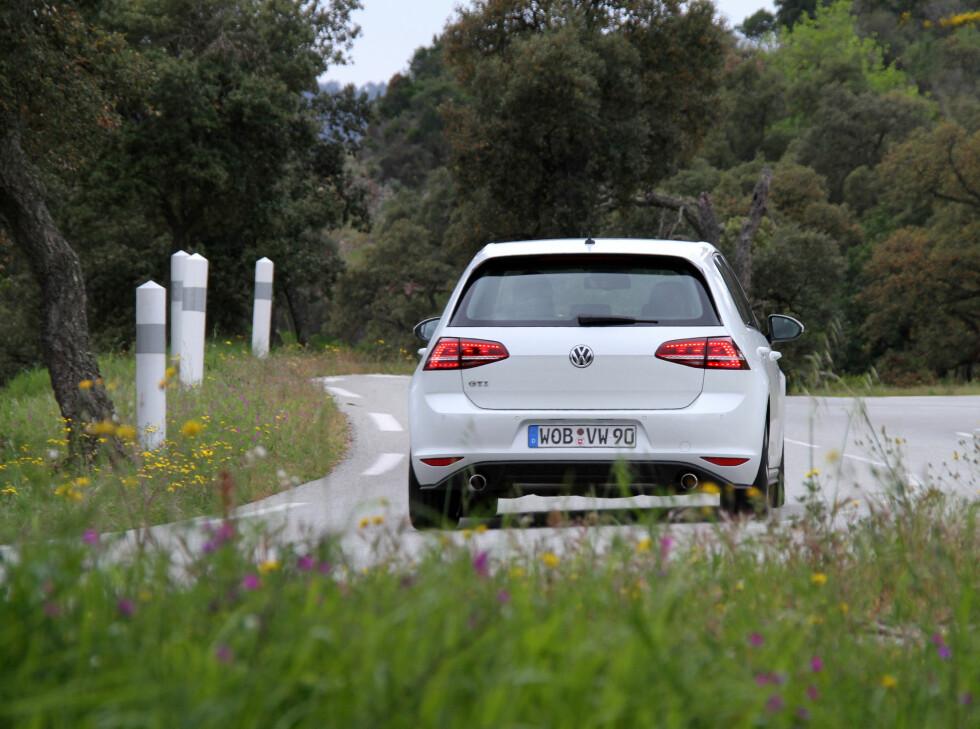 VW GTE: Bilen er ikke ventet visuelt å skille seg nevneverdig fra GTI. Foto: Fred Magne Skillebæk
