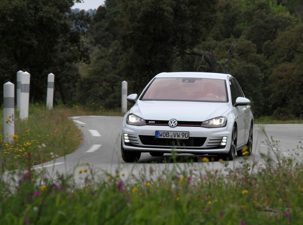 Det er når langstrekka er over at nye Golf GTI kommer til sin rett.  Foto: Fred Magne Skillebæk
