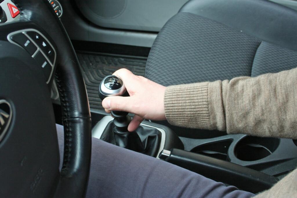 Husk å sette bilen i gir når du parkerer.  Foto: Berit B. Njarga