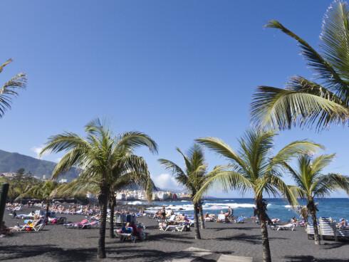 OG HIT: Også Tenerife kan du komme deg til med Ryanair nå, fra Rygge og Torp.  Foto: Colourbox.com