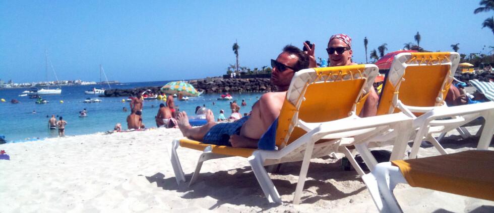 HIT: Ryanair begynner i vinter å fly nordmenn til Gran Canaria fra flyplassen på Rygge.  Foto: Silje Ulveseth