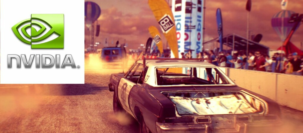 Spillet Dirt: Showdown er blant spillene som vil flyte vesentlig bedre med de nye driverne.