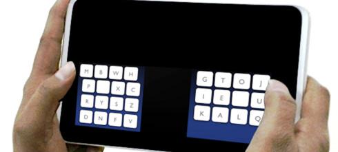 KALQ - raskere tastatur for berøringsskjermer