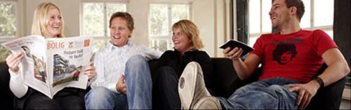 For noen kan det å kjøpe bolig sammen med venner være en smart løsning. Foto: Per Ervland