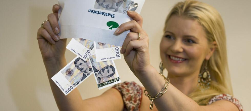 Har forskuddstrekket på inntekten din vært for lavt, blir det i praksis et rentefritt lån hvis du betaler inn beløpet innen 31. mai.  Foto: Per Ervland