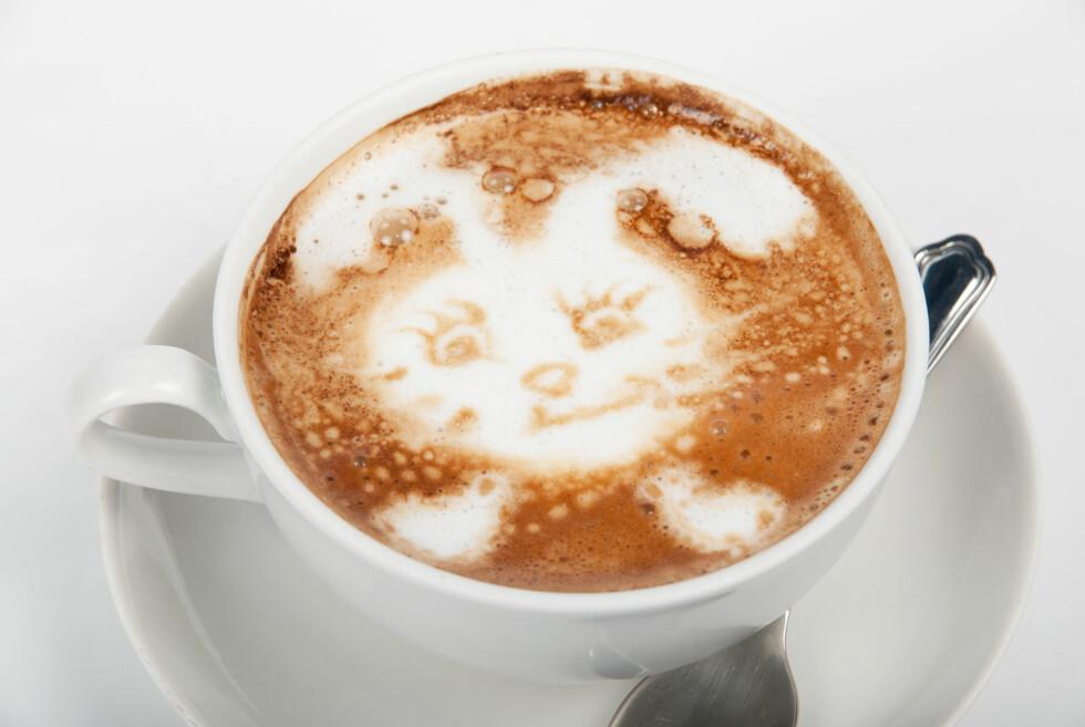 En litt mer avansert variant. Her kan du risikere at kaffen er kald før du er ferdig. Foto: Colourbox.com