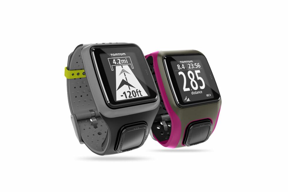 To nye sportsklokker ble lansert. TomTom har tidligere laget en klokke sammen med Nike, men dette er de første som bærer TomTom-merket. De kan løsnes fra rammen, og styres med den store knappen på reimen.