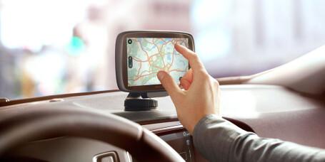 39% bruker aldri navigasjon i bil