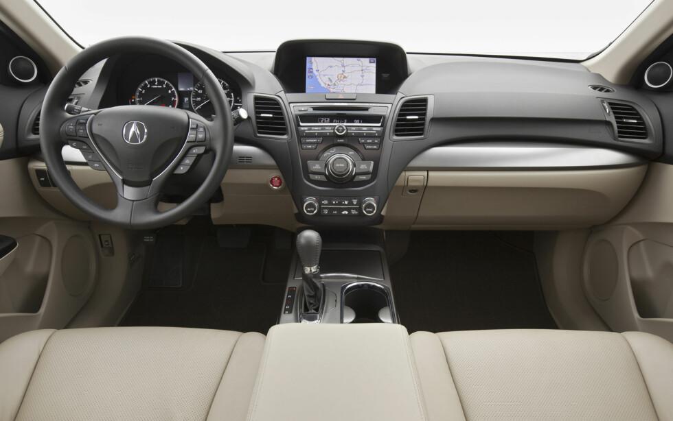 Acura RDX (Premium-SUV basert på Honda CR-V)