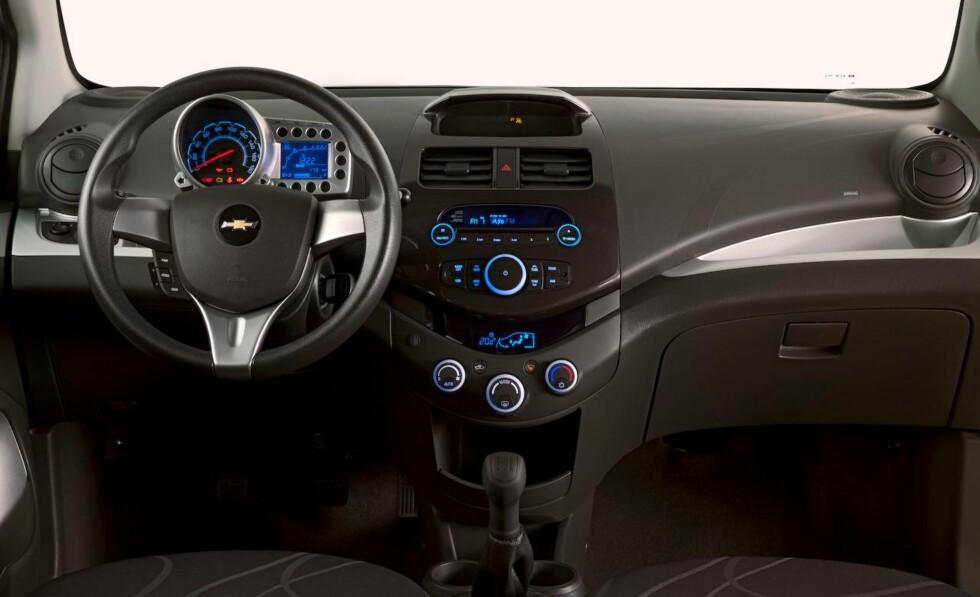 Chevrolet Spark: Liten bybil