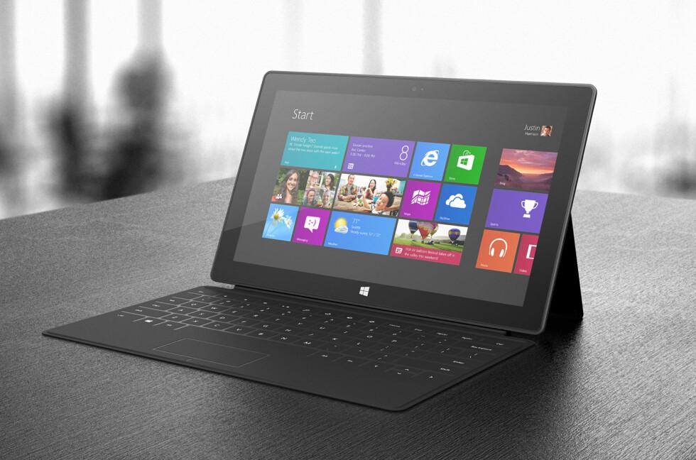 Microsoft Surface Pro - PC og nettbrett i ett? Foto: Microsoft