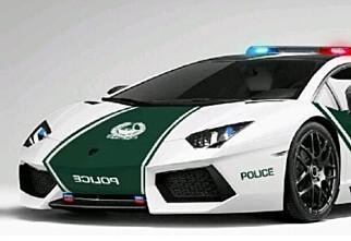 Dubai har verdens råeste politibil