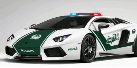 image: Dubai har verdens råeste politibil
