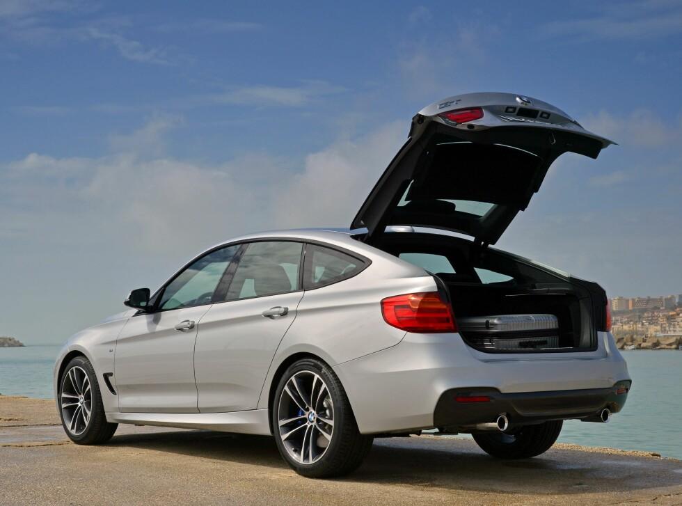 BMW 3-serie GT er en bil for de som vil ha god plass, uten å måtte ty til en stasjonsvogn.  Foto: BMW
