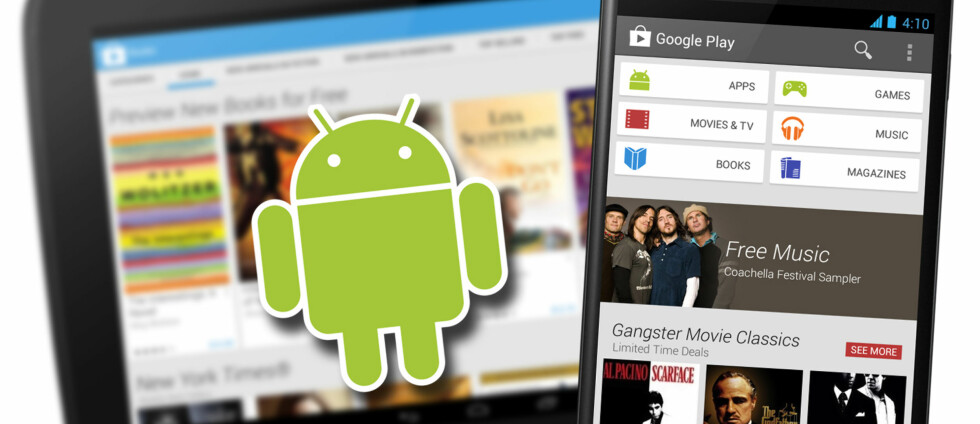 Blir det enklere å finne apper nå? Foto: Kirsti Østvang