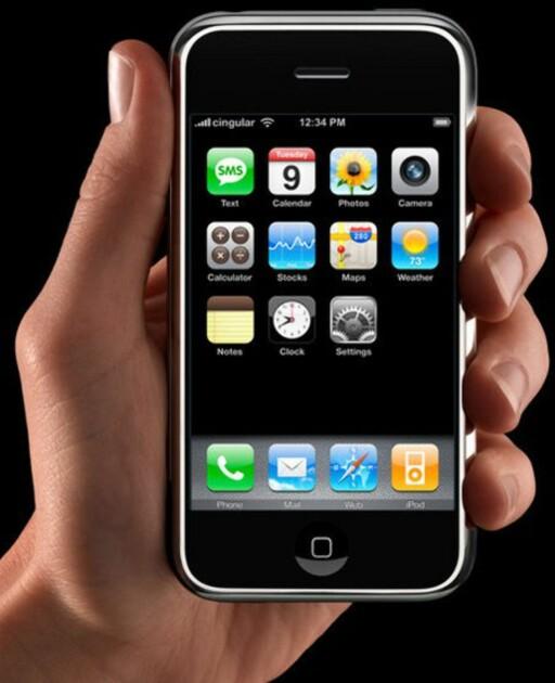 iPhone var ikke den første telefonen med berøringsfølsom skjerm, men forandret likevel hele markedet for mobiltelefoner.