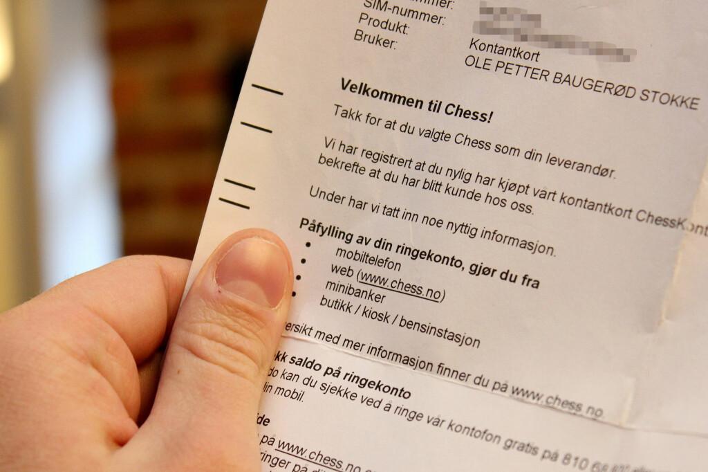 SJOKK: Da dette brevet dumpet ned i postkassen vår forstod vi at uhellet hadde vært ute. Vi hadde blitt utsatt for et klassisk ID-tyveri.  Foto: Ole Petter Baugerød Stokke