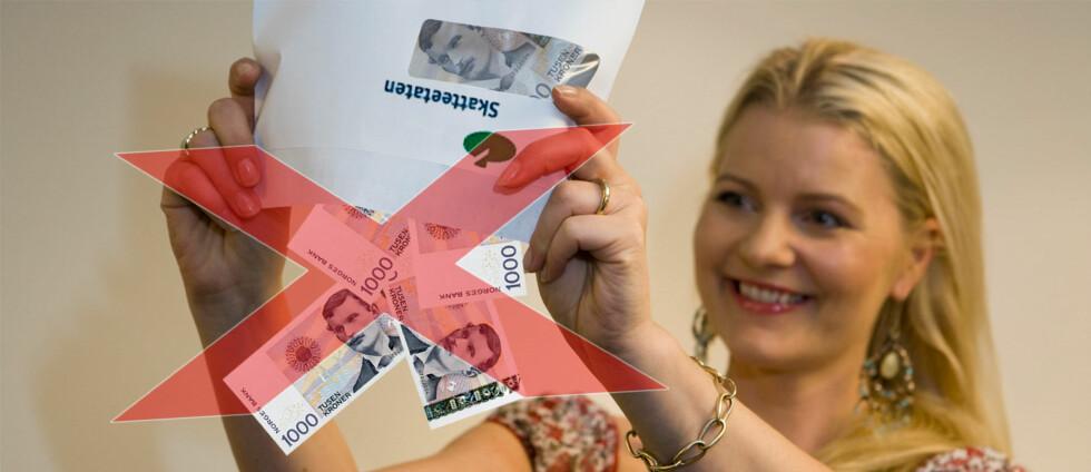 Leverer du selvangivelsen på papir kan du glemme å få oppgjøret utbetalt i juni.  Foto: Per Ervland