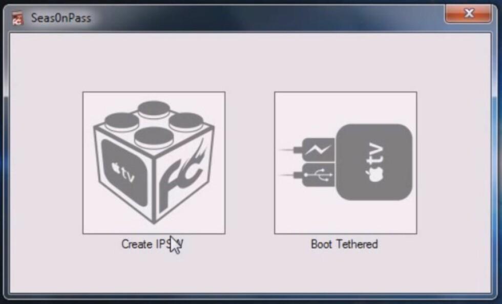 Slik jailbreaker du Apple TV 2