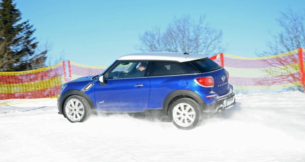 Paceman er svært underholdende på skikkelig vinterføre Foto: Cato Steinsvåg
