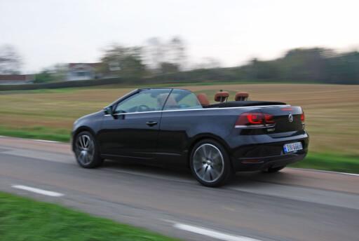 Volkswagen Golf i kabrioletversjon er basert på forrige generasjon Golf, til tross for at den bare er halvannet år gammel