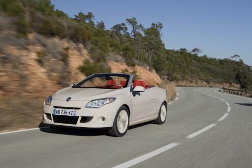 Renault Mégane har blitt solgte som kabriolet over mange år og flere generasjoner Foto: Renault