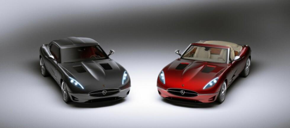 Lyonhearts hyllest til E-Type skal produseres både som kupé og kabriolet.