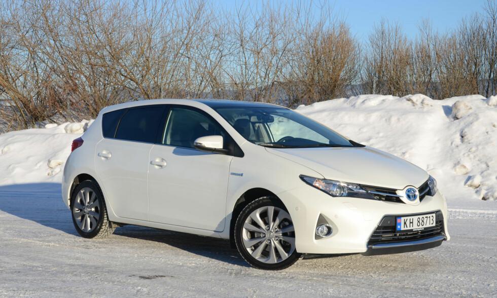 Toyota Auris Foto: CATO STEINSVÅG