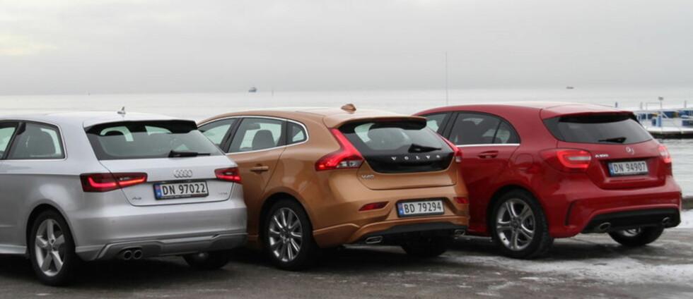 Tre nykommere, men bare én klarte å slå seg inn på topp 10-listen over de mest solgte bilene i vinter - Volvo V40 Foto: Fred Magne Skillebæk
